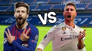 Piqué vs Sergio Ramos. Épicas Batallas de Rap del Fútbol