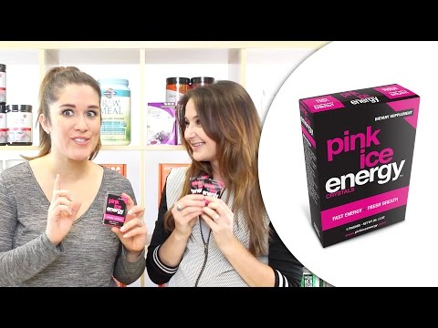 The Scoop: Popping Crystal Energy - Pink Ice Energy