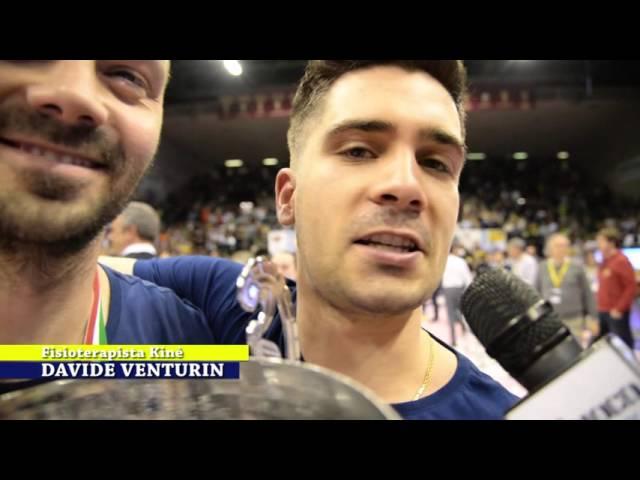 #one. Le interviste. Imoco Volley Campione d'Italia