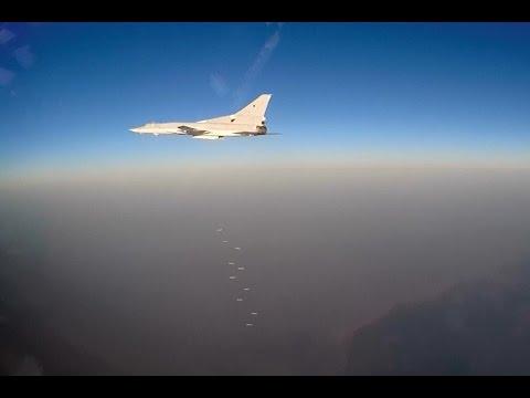 Нанесение авиаудара самолетами