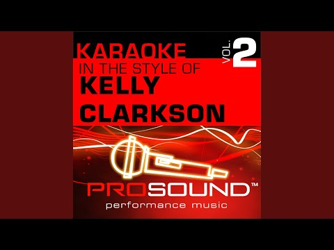 Breakaway (Karaoke With Background Vocals) (In the style of Kelly Clarkson) mp3