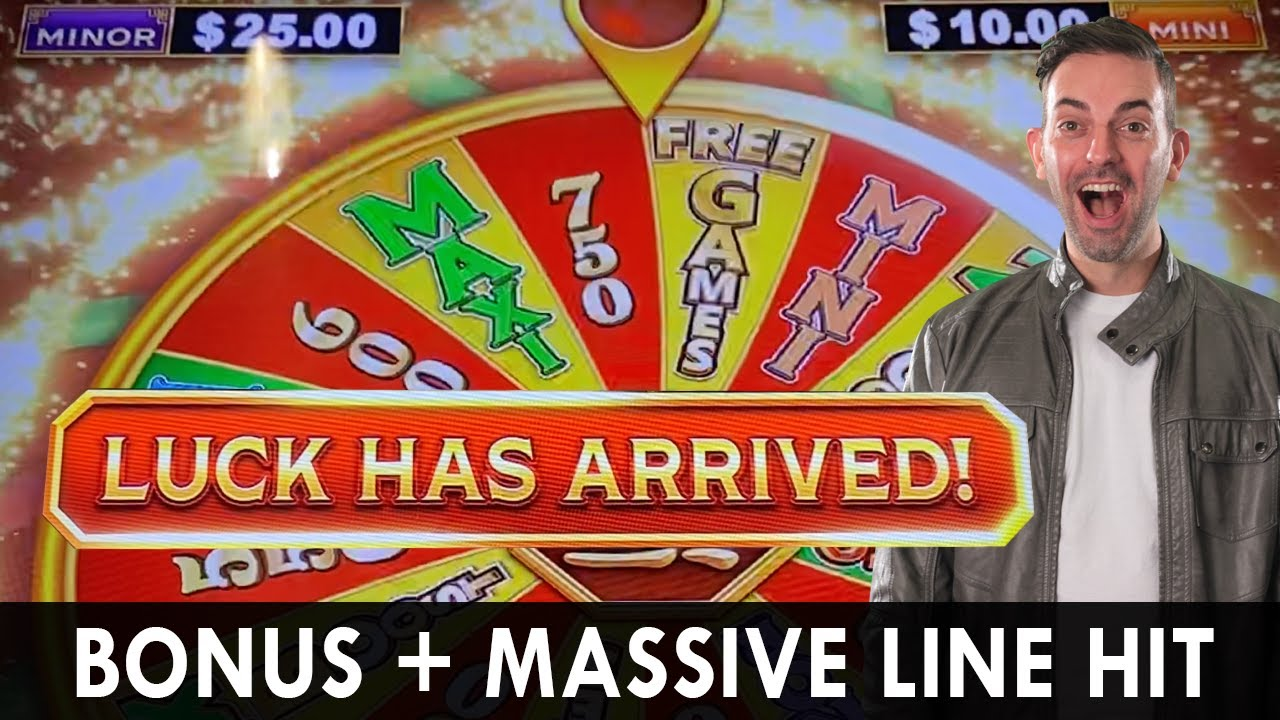 LUCK HAS ARRIVED 🙌🏻 BONUS + MASSIVE HIT at Choctaw in Durant OK #ad