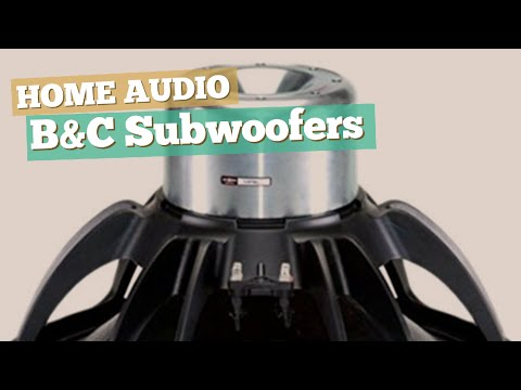 B&C Subwoofers // Home Audio Best Sellers