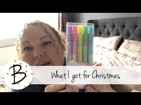 What I got for Christmas 2017 | Stationery, Planner & Journal edition