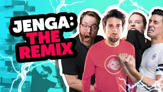 Rooster Teeth Remix - JENGA: THE REMIX ⚡️⚡️⚡️ - ft. Achievement Hunter