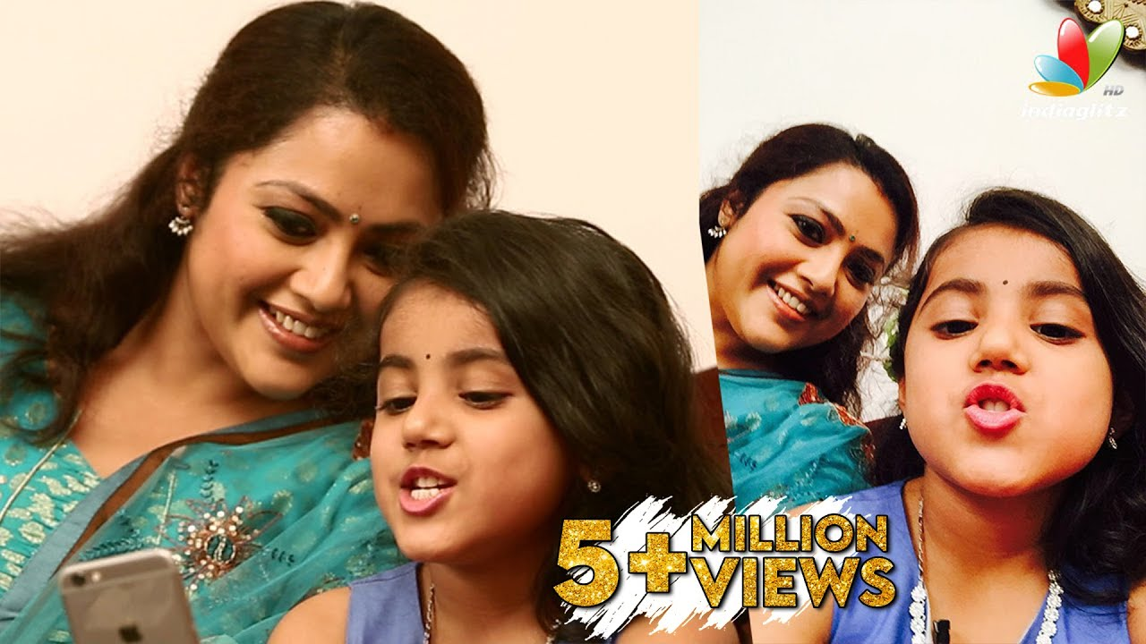 ... Meena's Daughter Interview | Vijay's Theri Movie Special - YouTube