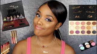 COLOURPOP DISNEY DESIGNER COLLECTION REVIEW, SWATCHES & TUTORIAL | Ellarie