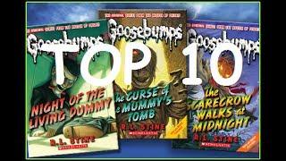Top 10 WORST Goosebumps Books!