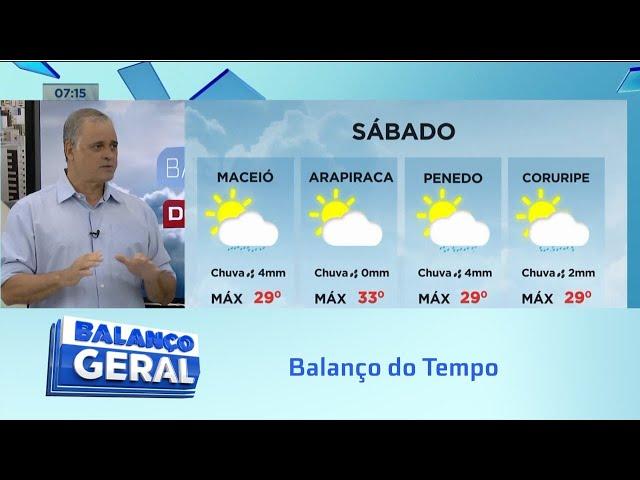 Balanço do Tempo: Tempo e Temperatura