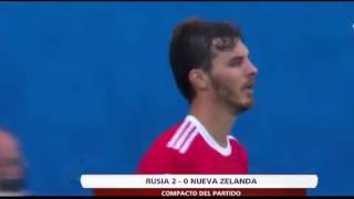 Video Gol Pertandingan Rusia vs Selandia Baru