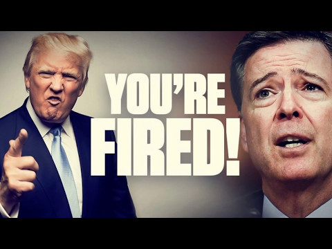 "President Trump To FBI Director James Comey ""YOU'RE FIRED!"" The Democrats got what they wanted..."