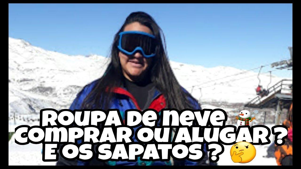 Roupas para a neve..Comprar ou Alugar  Santiago-Chile - YouTube 300f6c0d75f