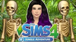 The Sims 4: Lauren Goes On A JUNGLE ADVENTURE (New Game Pack)