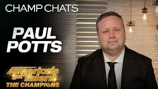 Singer Paul Potts Chats On Representing Britain's Got Talent - America's Got Talent: The Champions
