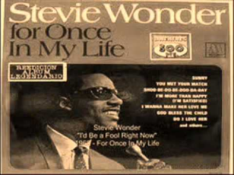 Stevie Wonder - I`d Be A Fool Right Now -1968