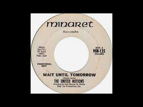 The United Notions - Wait Until Tomorrow(1968).