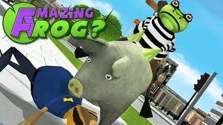 Amazing Frog - FROG CRIMINAL- Part 36   Pungence