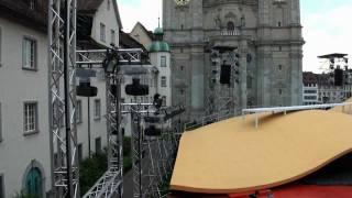 Das Beschallungs- und Intercom-System der Festspiele St. Gallen 2011