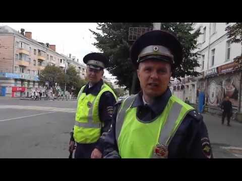 Холопам нельзя проехать там где ездит ГАЗПРОМ (Брянск 25.08.2017)