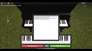 Roblox Piano Tutorials: The Titanic song (My Heart Will Go On)