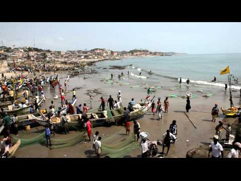 Harbour, Cape Coast - Ghana