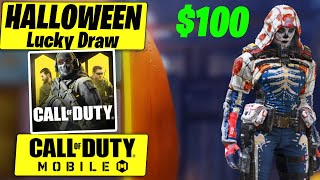 Call of Duty Mobile Halloween Lucky Draw..