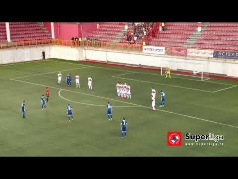 Super liga 2017/18: 33.kolo: VOŽDOVAC – VOJVODINA 2:1 (2:0)