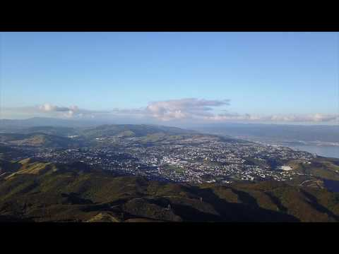 (Some of...) Wellington and its surroundings by drone