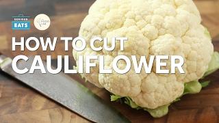 Knife Skills: How to Cut Cauliflower