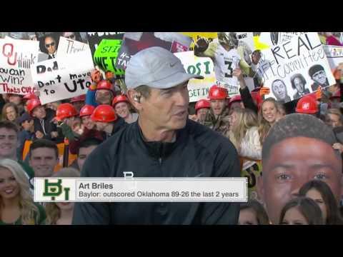 Baylor fans & Bob Stoops Interview