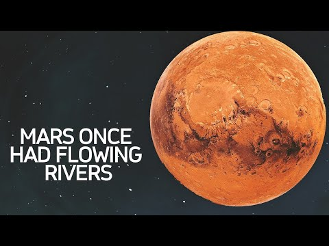 Early Mars Was Covered In Ice Sheets Not Flowing Rivers