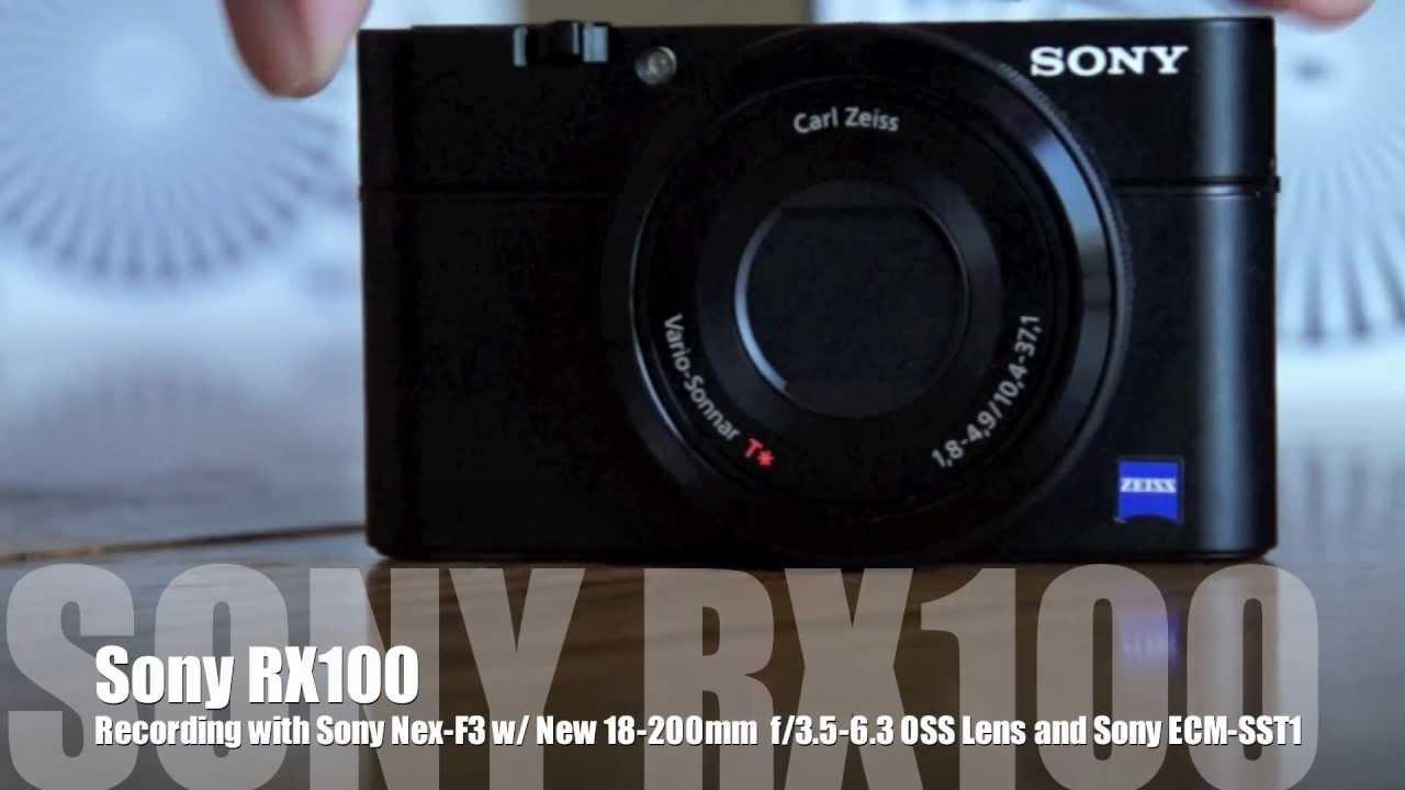 Sony RX100 - AF Testing, Clear Image Zoom Demo, and More