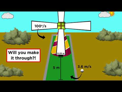 Practice Problem The Mini Golf Windmill Youtube