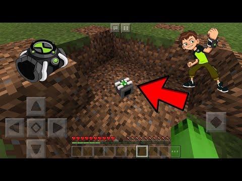 Minecraft PE - Omnitrix Addons (Working)