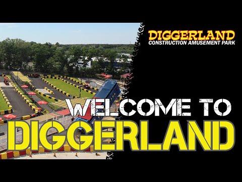 Diggerland USA Commercial 2019 | Diggerland Construction Amusement Park In New Jersey