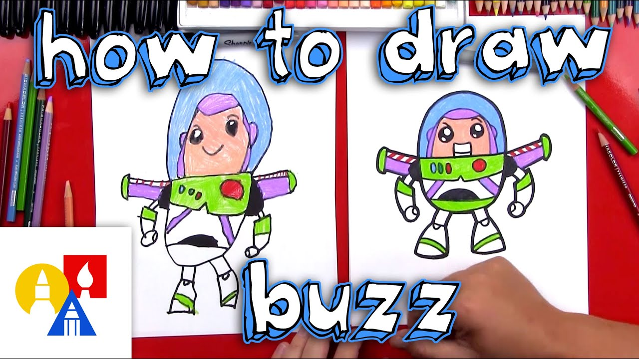 how to draw cartoon buzz lightyear youtube