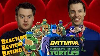 BATMAN Vs Teenage Mutant Ninja Turtles Trailer Reaction Review Rating