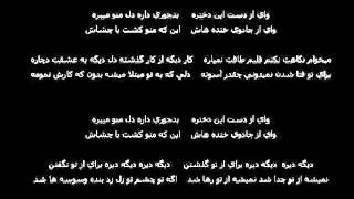 Farshid Amin Vay Az Daste In Dokhtare Karaoke By Sohrab Safa