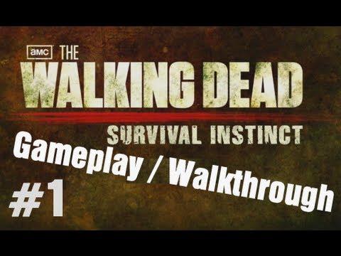 The Walking Dead Survival Instinct Gameplay / Walkthrough - Part 1