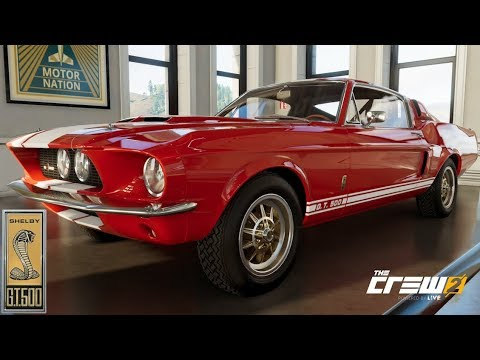The Crew 2 - 67' Shelby GT500 Mustang - Customization, Top Speed, Review