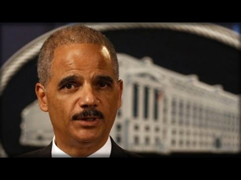 "ERIC HOLDER: REPUBLICANS WON BY ""RIGGING THE ELECTION"""