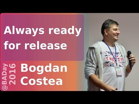 Always ready for release by Bogdan Costea