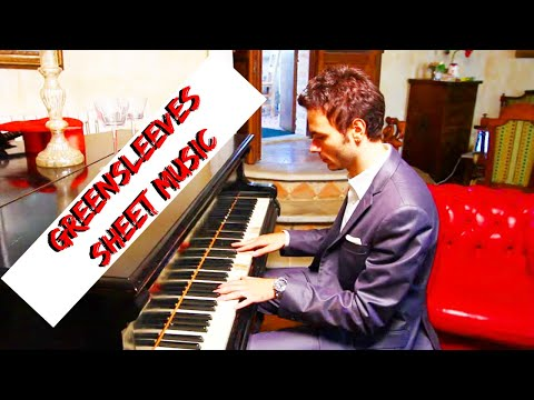 Best Greensleeves Piano Cover (sheet music) in PDF or MP3