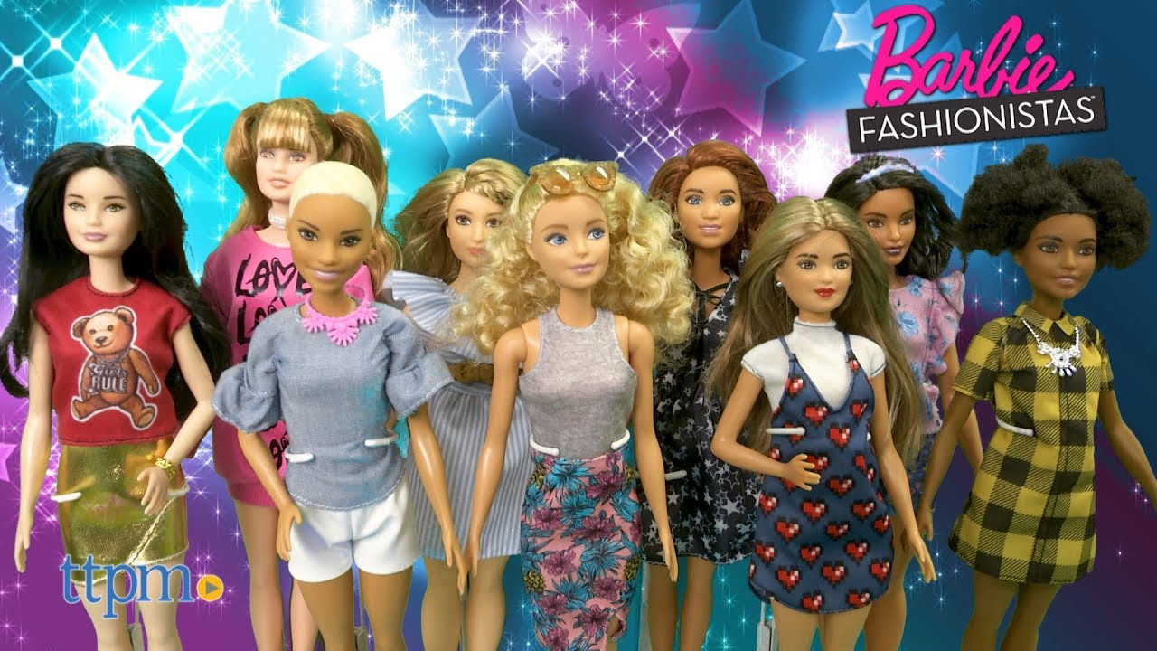 Barbie Fashionistas from Mattel - YouTube