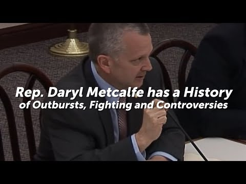 Daryl Metcalfe has a History of Outbursts, Fighting and Controversies [Compilation]