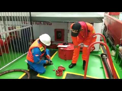 Pelaksanaan Bunker BBM Solar Industri