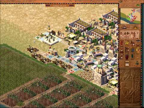 Pharaoh Walkthrough: Mission 25 - Thutmose in the Valley (Deir El-Medina 1) [2/2]
