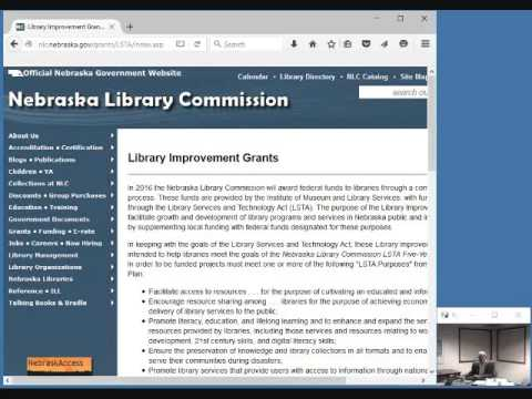 NCompass Live: Library Improvement Grants Information Session