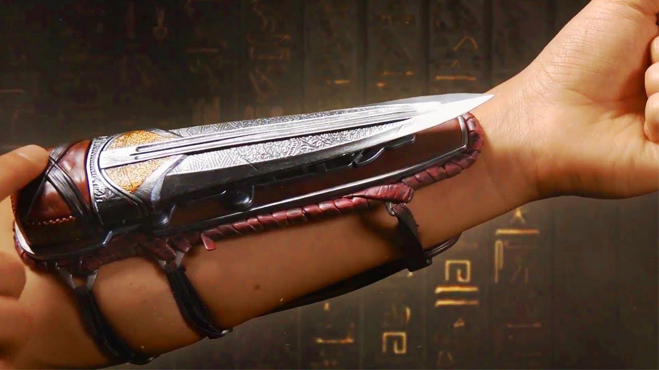 Assassins Creed Origins Hidden Blade Replicas And Bayek Aya