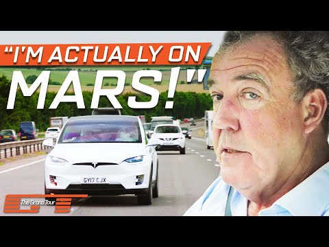 Clarkson Is Astonished By The Self-Driving Tesla Model X | The Grand Tour